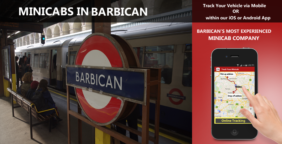 minicab-in-Barbican