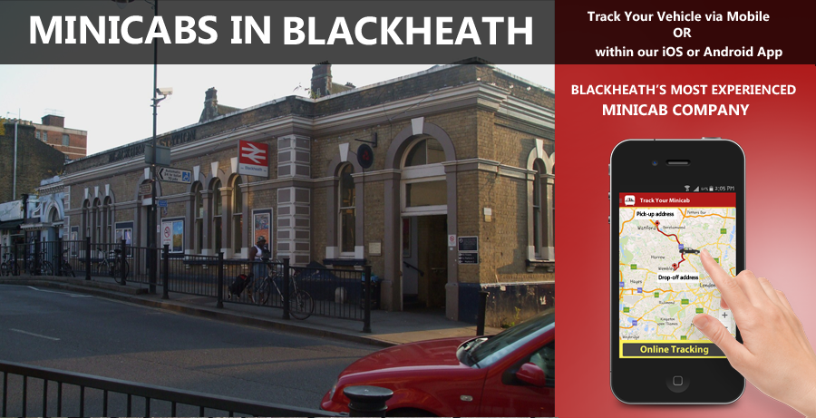 minicab-in-Blackheath