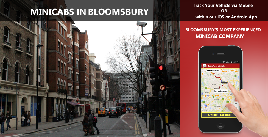 minicab-in-Bloomsbury