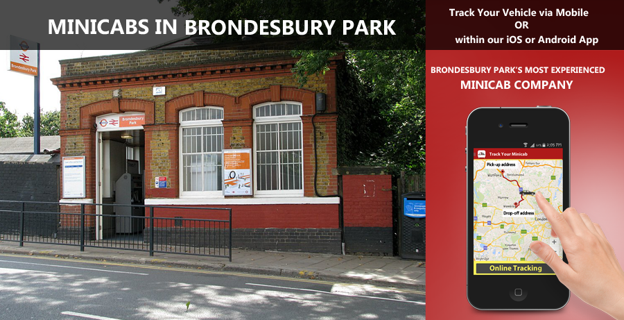 minicab-in-Brondesbury Park