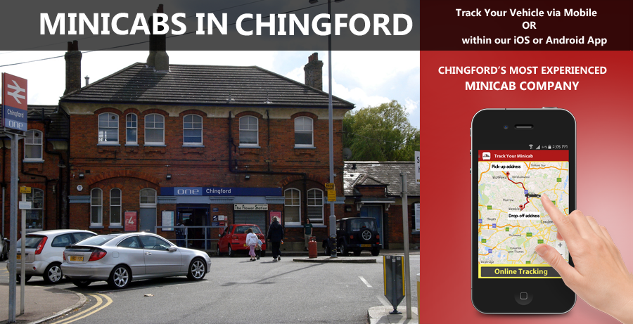 minicab-in-Chingford