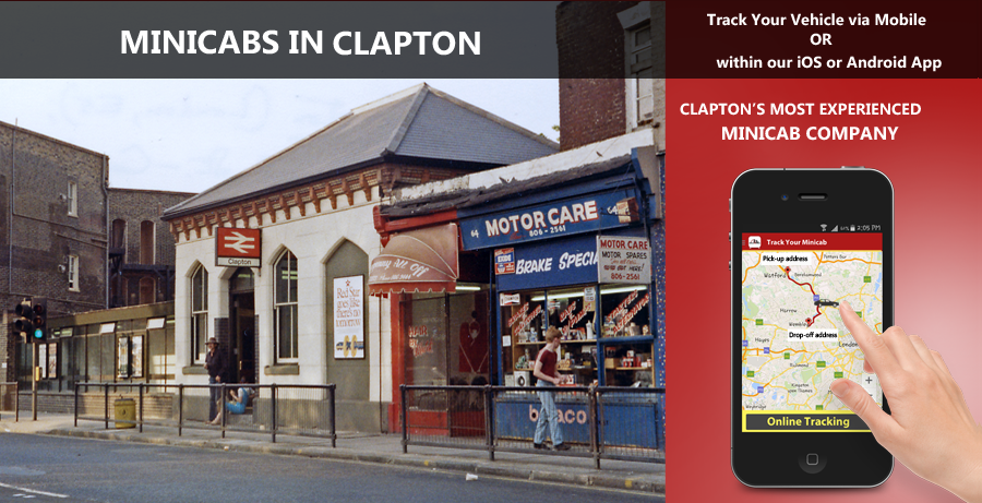 minicab-in-Clapton