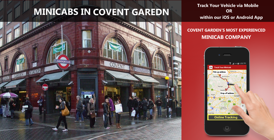 minicab-in-Covent Garden