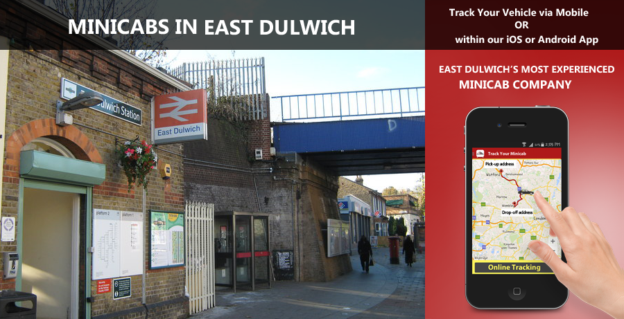minicab-in-East Dulwich