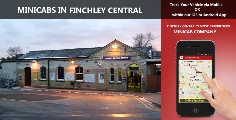 minicab-in-Finchley Central