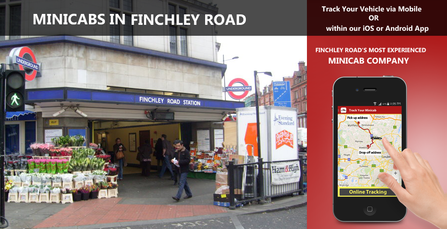 minicab-in-Finchley Road
