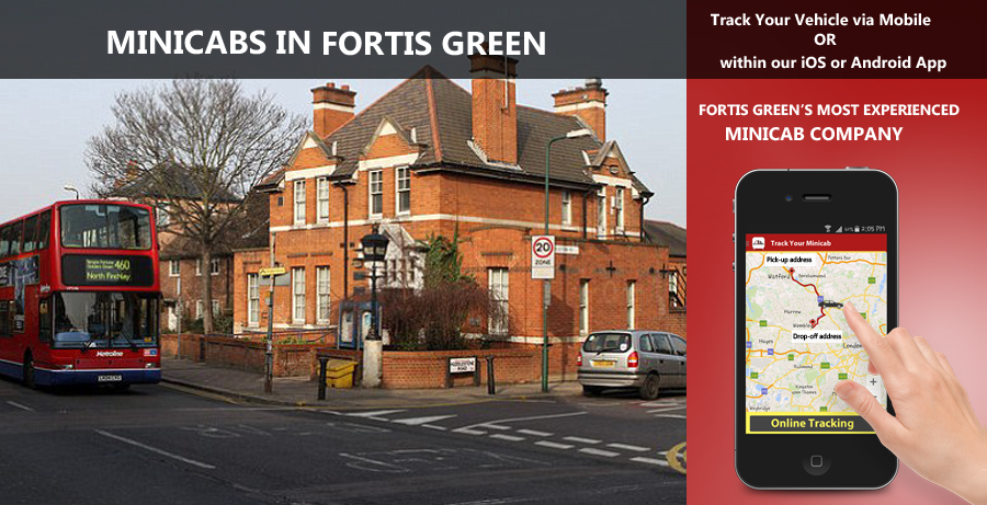 minicab-in-Fortis Green