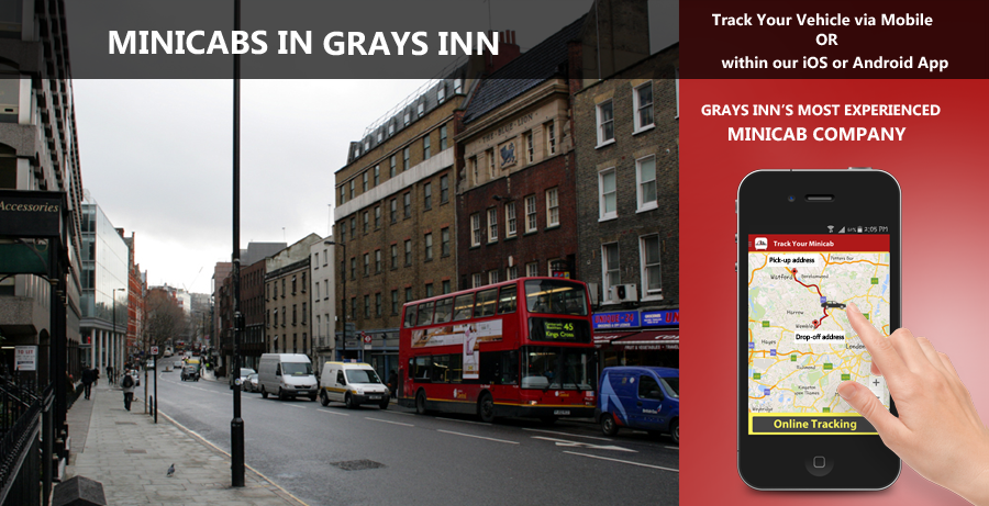 minicab-in-Grays inn