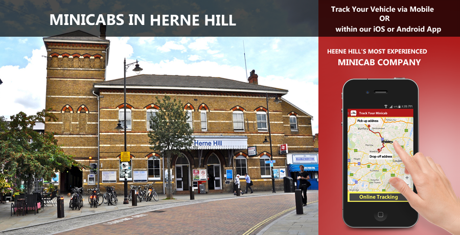 minicab-in-Herne Hill