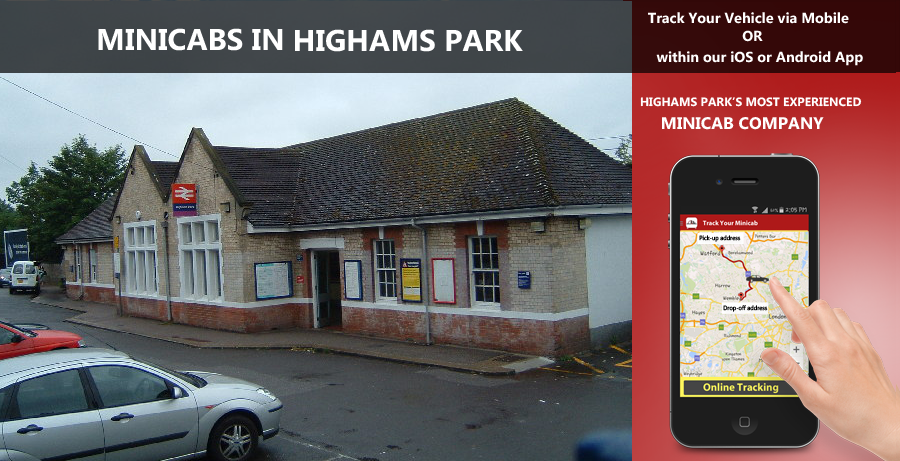 minicab-in-Highams Park