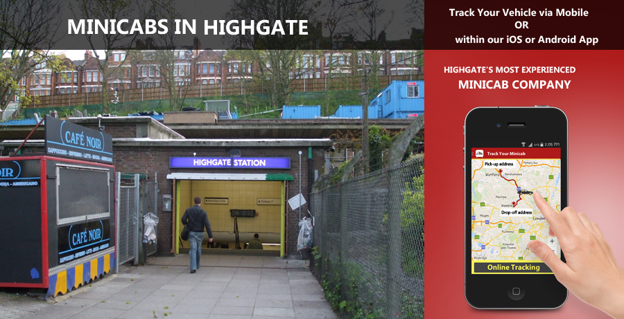 minicab-in-Highgate