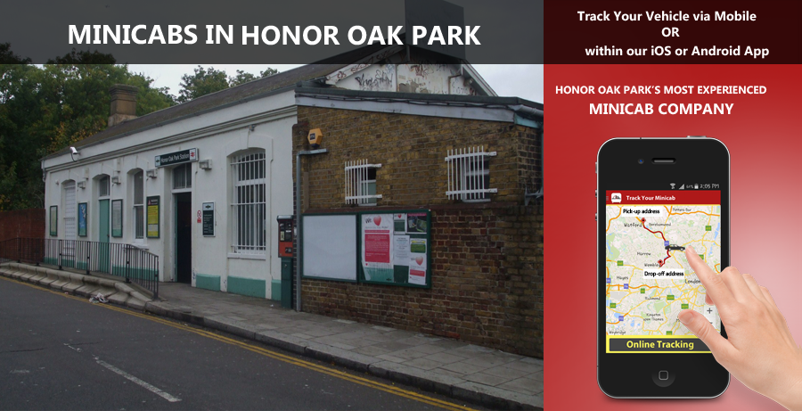 minicab-in-Honor Oak Park