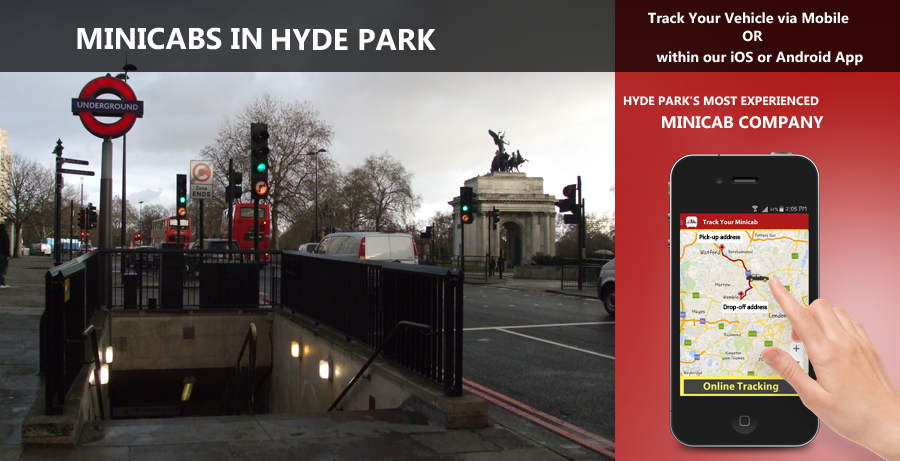 minicab-in-hyde park