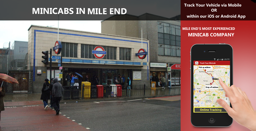 minicab-in-Mile End