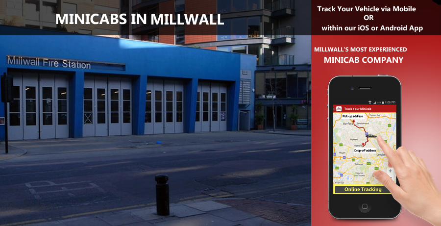 minicab-in-Millwall