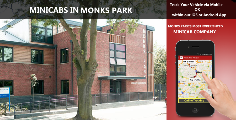 minicab-in-Monks Park