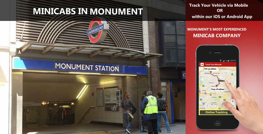 minicab-in-Monument