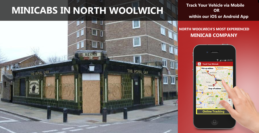 minicab-in-North Woolwich