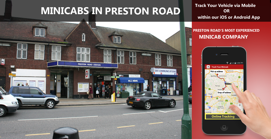 minicab-in-Preston Road