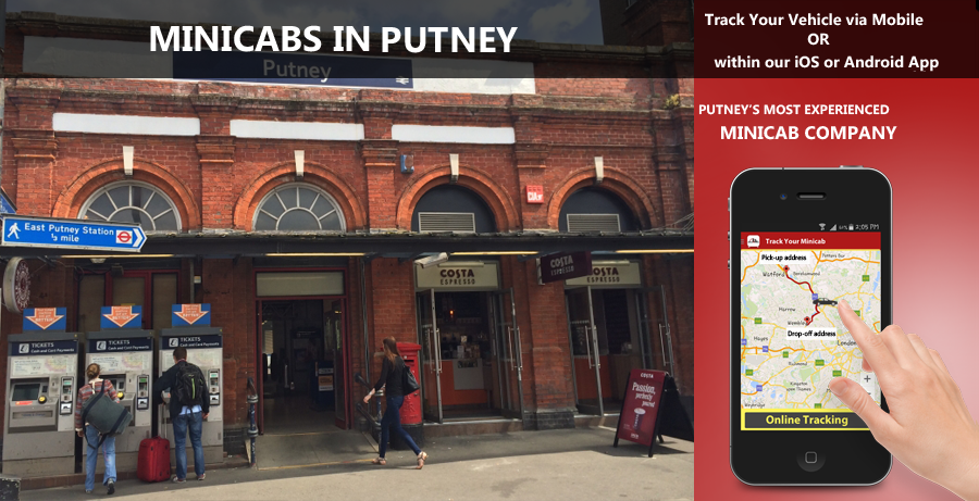 minicab-in-Putney