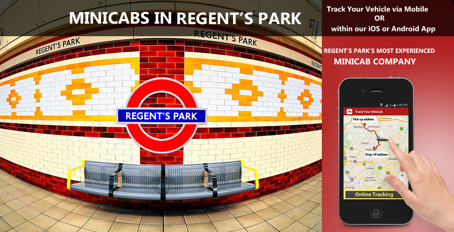 minicab-in-Regents Park