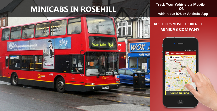 minicab-in-Rosehill