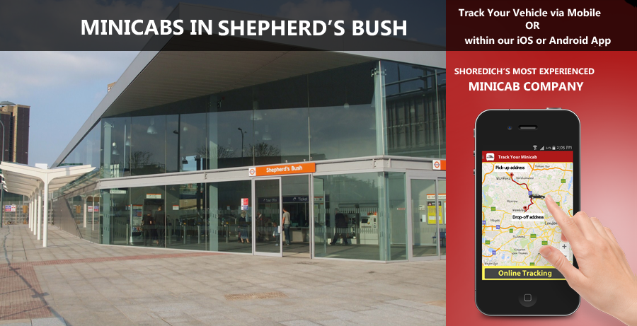 minicab-in-shepherds bush
