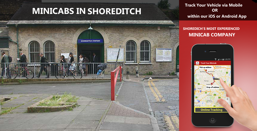 minicab-in-Shoreditch