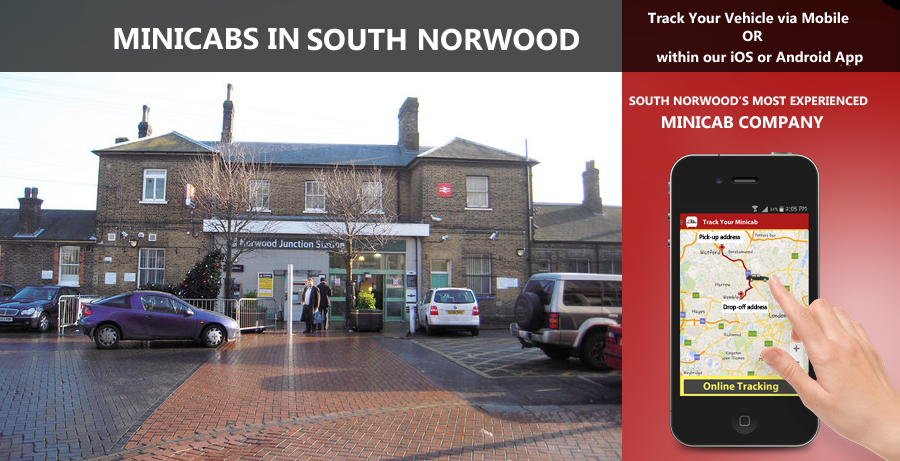 minicab-in-South Norwood