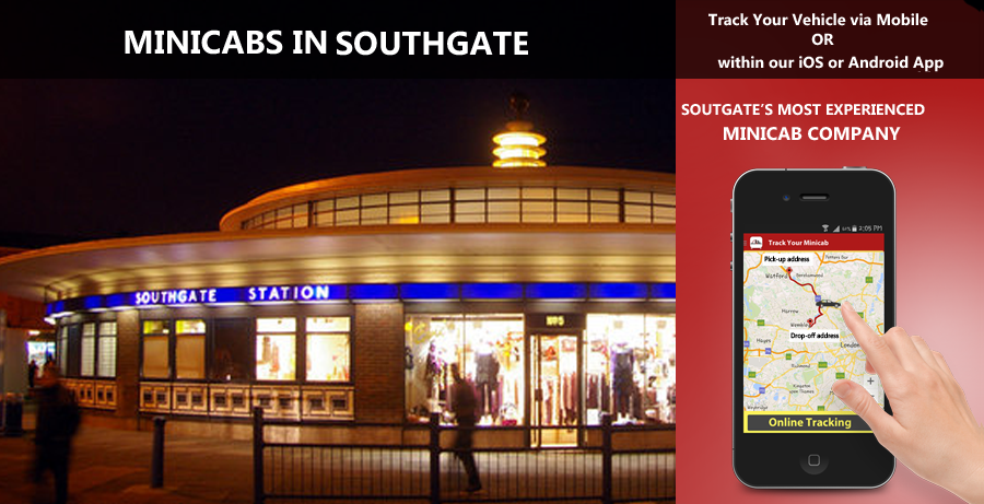 minicab-in-Southgate