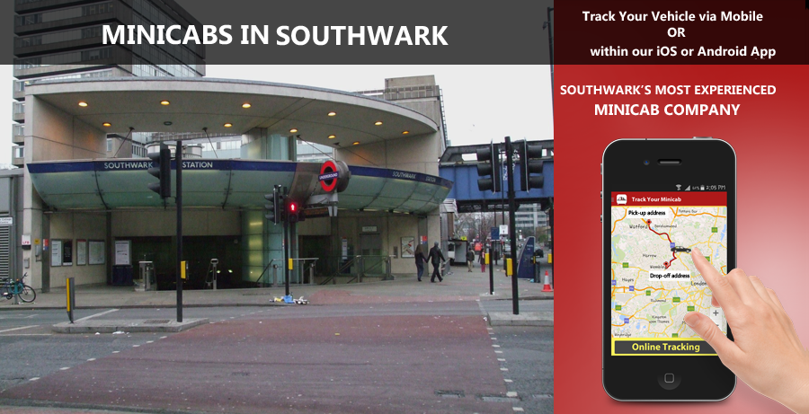 minicab-in-Southwark