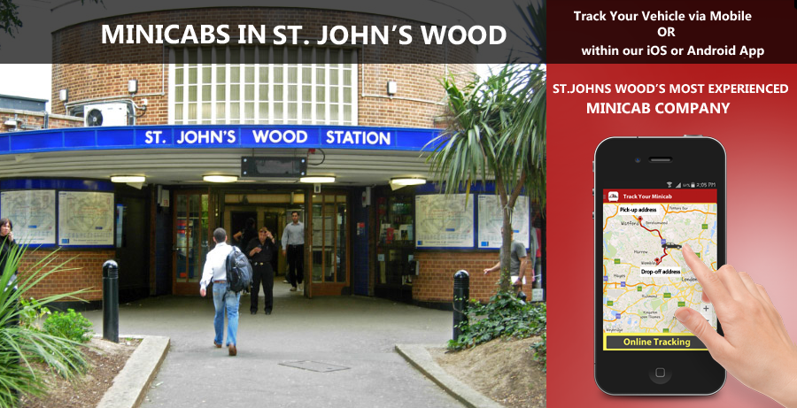 minicab-in-St. Johns Wood