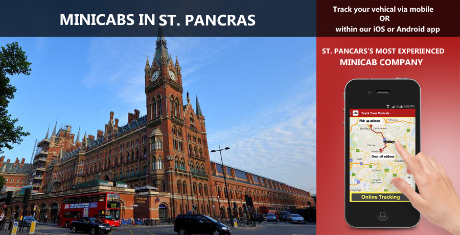 minicab-in-St. Pancras