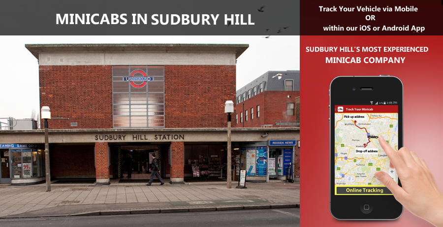 minicab-in-Sudbury hill
