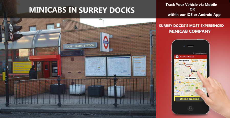 minicab-in-Surrey Docks