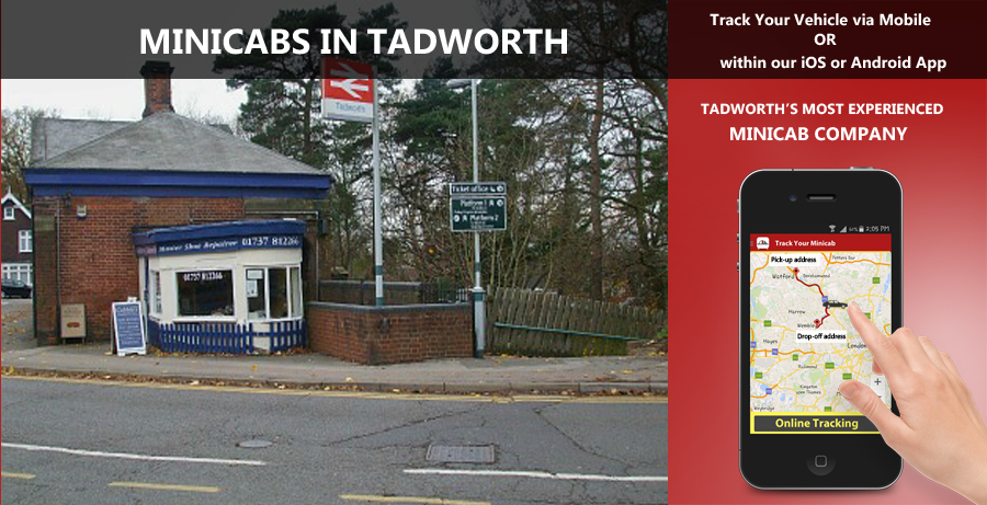 minicab-in-Tadworth