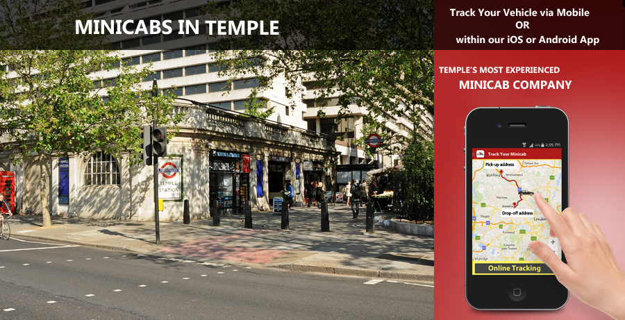 minicab-in-Temple