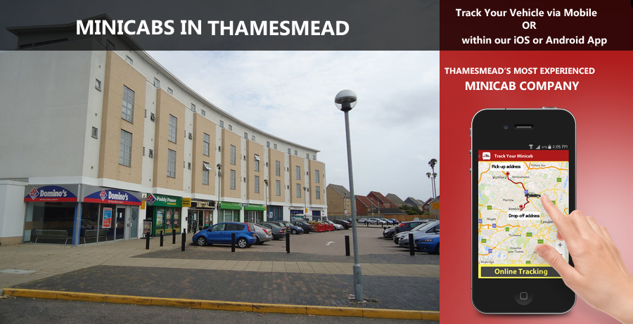 minicab-in-Thamesmead