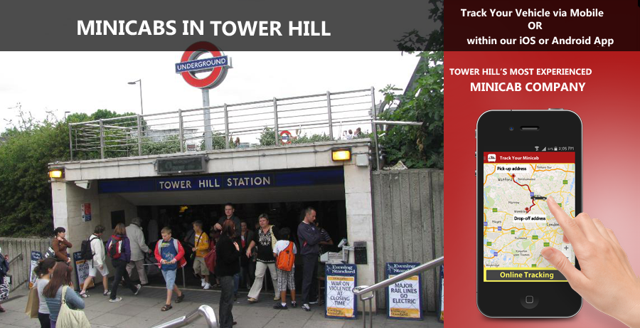 minicab-in-Tower Hill