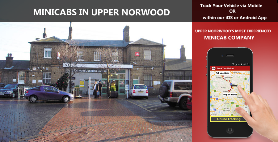 minicab-in-Upper Norwood