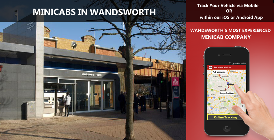 minicab-in-Wandsworth