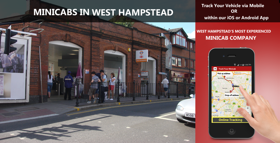 minicab-in-West Hampstead