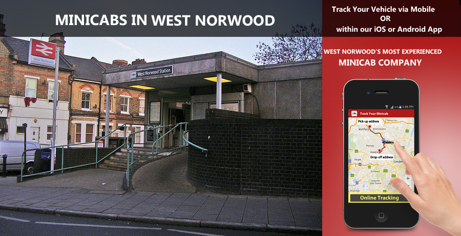 minicab-in-West Norwood