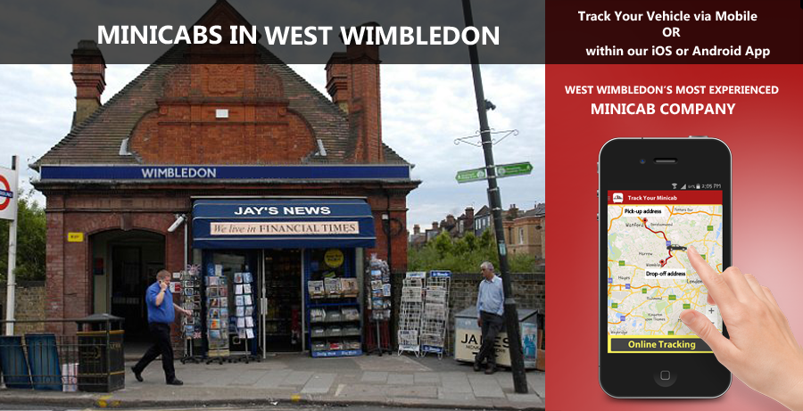 minicab-in-West Wimbledon