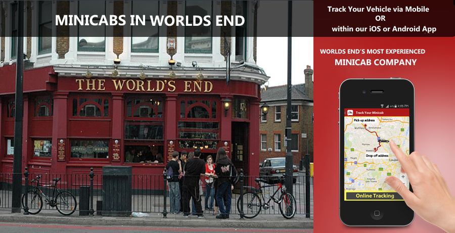 minicab-in-Worlds End